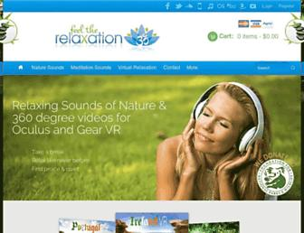 feeltherelaxation.com screenshot