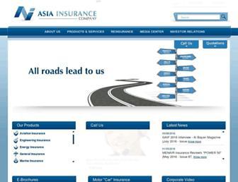asiainsurance.net screenshot