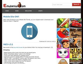 emulanium.com screenshot