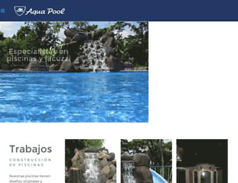 aquapool.co.cr screenshot
