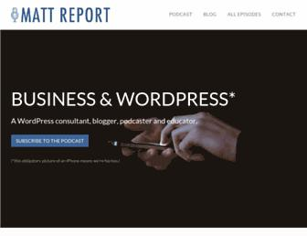 Thumbshot of Mattreport.com