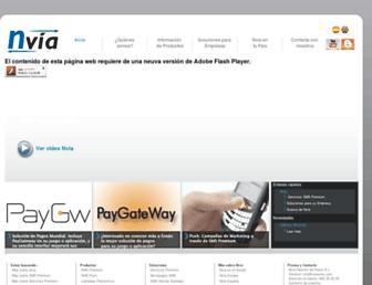 Thumbshot of Nviasms.com