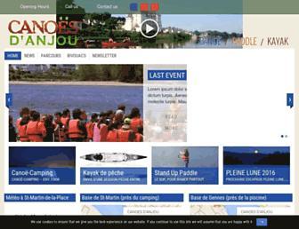 canoes.fr screenshot
