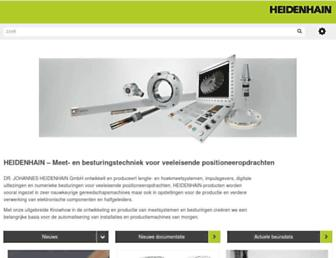 heidenhain.nl screenshot