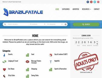 Thumbshot of Brazilfatale.com