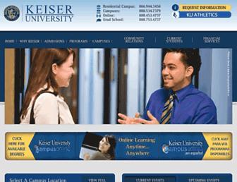 Thumbshot of Keiseruniversity.edu