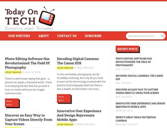 todayontech.com screenshot