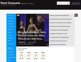 Thumbshot of Postcrescent.com
