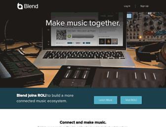 blend.io screenshot