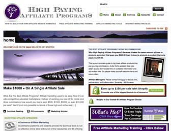 highpayingaffiliateprograms.com screenshot