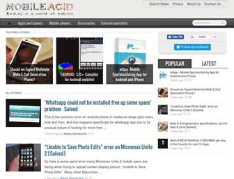 mobileacid.com screenshot