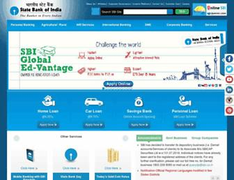 Thumbshot of Sbi.co.in