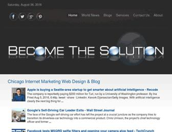 becomethesolution.com screenshot