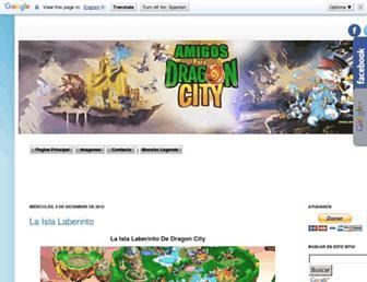 amigosparadragoncity.com screenshot