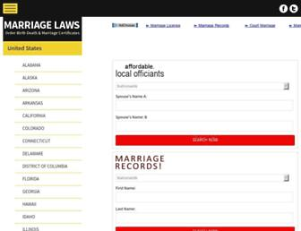 Thumbshot of Usmarriagelaws.com