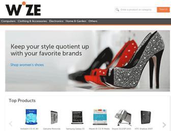 Thumbshot of Wize.com
