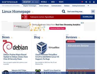 linux.softpedia.com screenshot