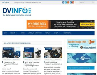 Screenshot for dvinfo.net