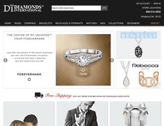 diamondsinternational.com screenshot