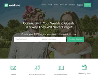 wedivite.com screenshot