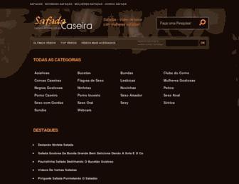 Screenshot for safadacaseira.com.br