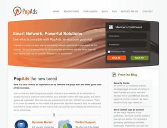 Screenshot for popads.net