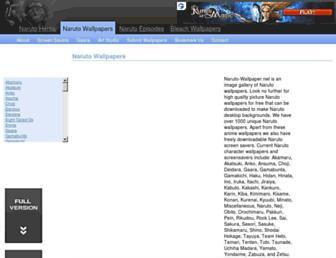 naruto-wallpaper.net screenshot