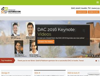 dac.com screenshot