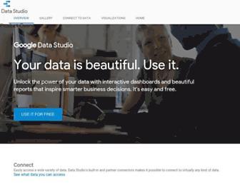 datastudio.google.com screenshot