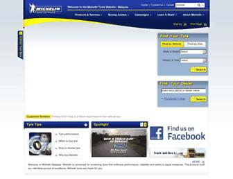 michelin.com.my screenshot
