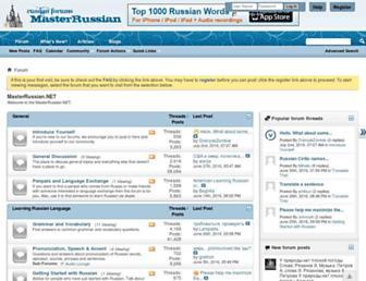 masterrussian.net screenshot