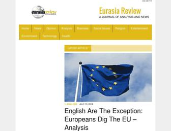 eurasiareview.com screenshot
