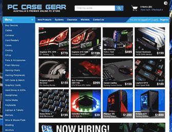 Thumbshot of Pccasegear.com