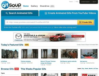 Thumbshot of Gifsoup.com