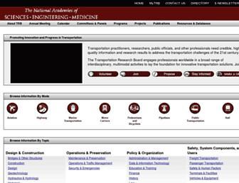 trb.org screenshot