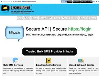 smsindiahub.com screenshot