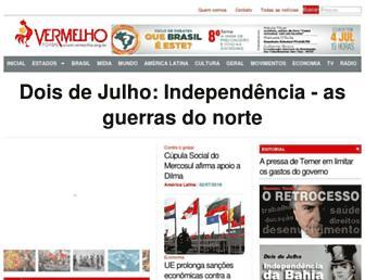 Thumbshot of Vermelho.org.br