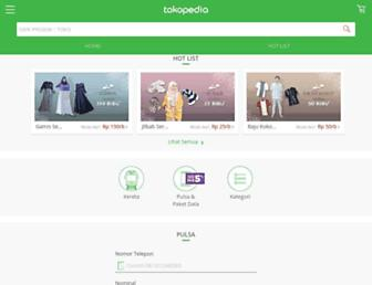 m.tokopedia.com screenshot
