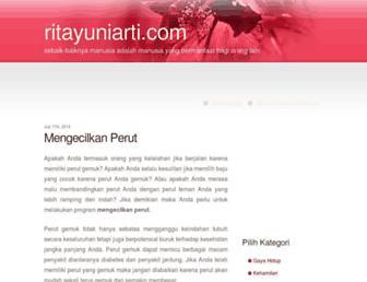 ritayuniarti.com screenshot