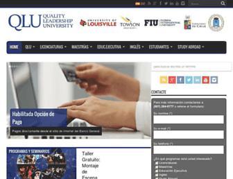 qlu.ac.pa screenshot