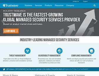 trustwave.com screenshot