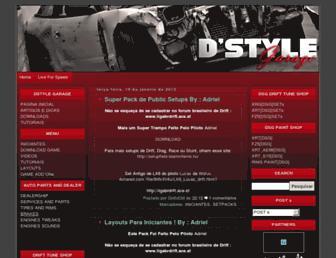 dstylegaragelfs.blogspot.com screenshot