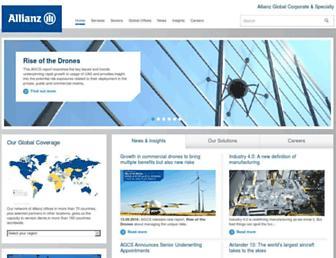 agcs.allianz.com screenshot