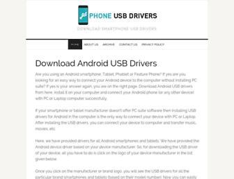 phoneusbdrivers.com screenshot