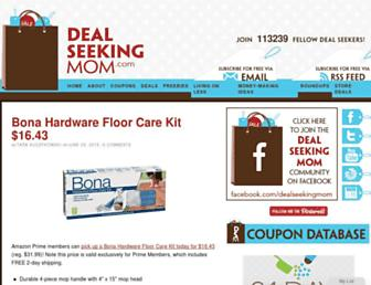 Thumbshot of Dealseekingmom.com