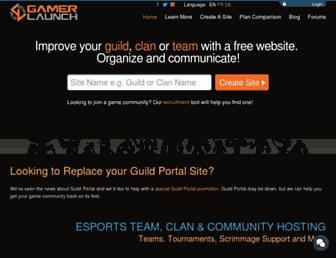Thumbshot of Guildlaunch.com