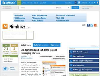 nimbuzz.en.softonic.com screenshot