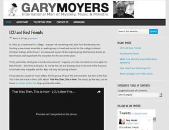 garymoyers.com screenshot