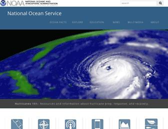 oceanservice.noaa.gov screenshot
