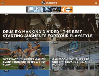 Thumbshot of Gamecrate.com
